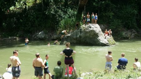 Swimming in the DR