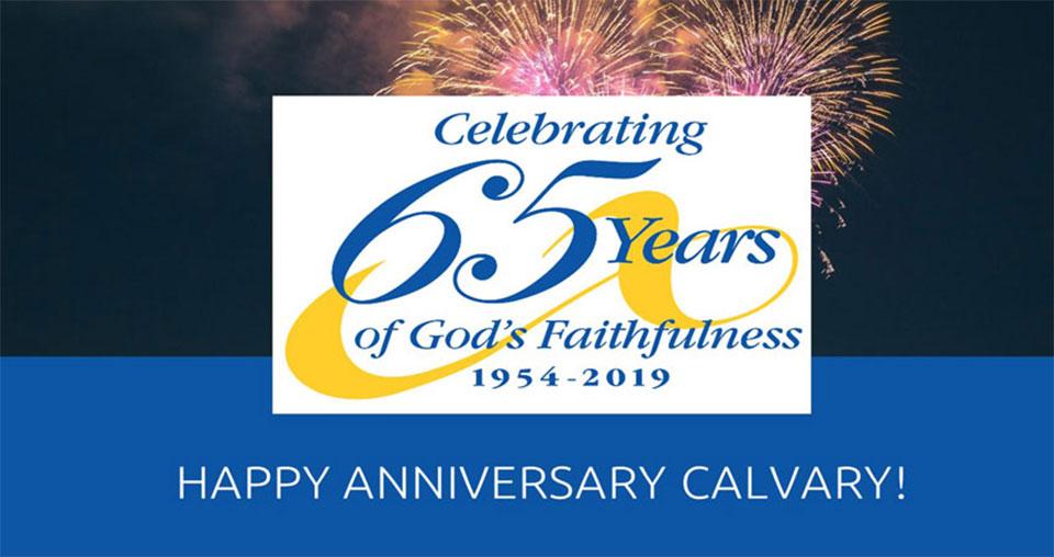 Calvary's 65th Anniversary