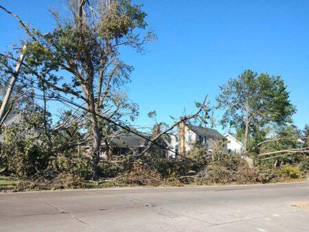 Iowa storm damage