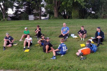 Youth Group boys small group