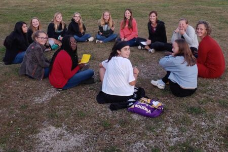 Youth Grouop Girls small group