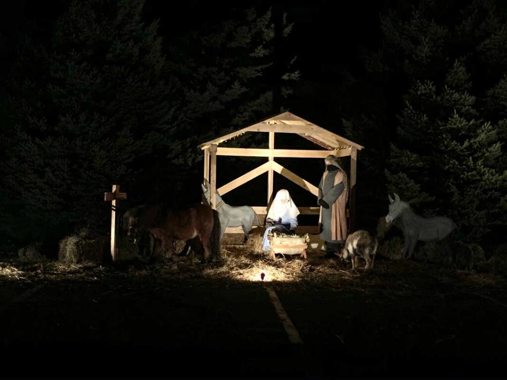 drive thru nativity manger