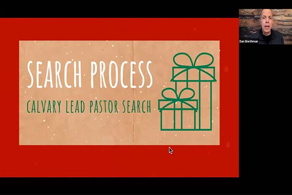 Pastoral Search Team Process
