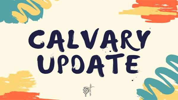 Calvary Update