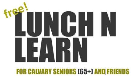 Senior Adult Lunch N Learn