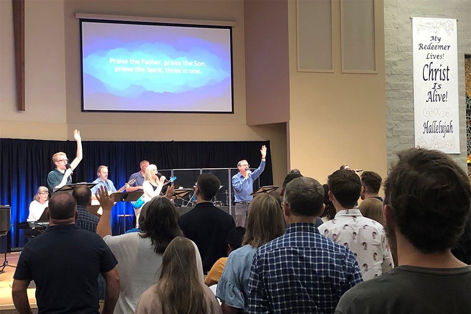 Calvary Church Service