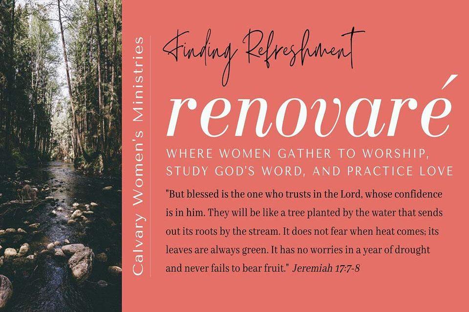 Renovare Women's Bible Study