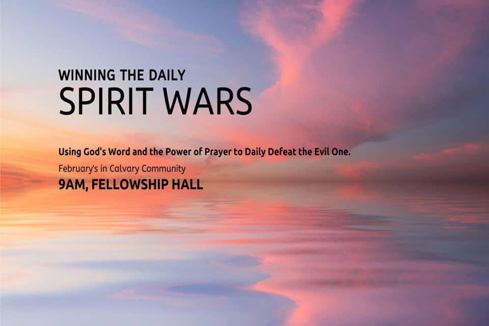 Winning the Daily Spirit Wars