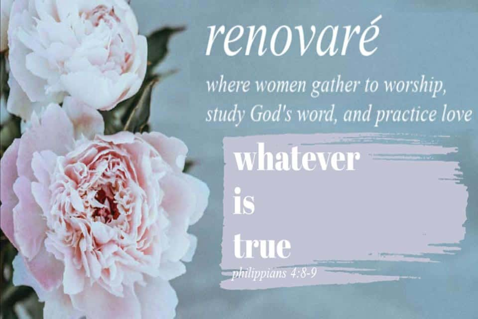 Renovare Women's Bible Studies