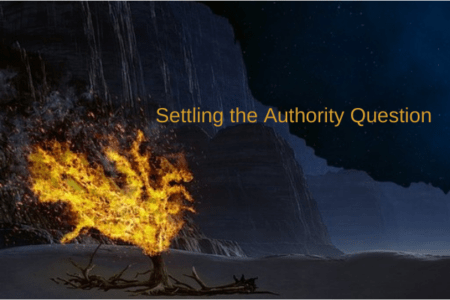 Settling the Authority Question